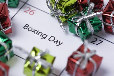 What is Boxing Day and how did it get its name?