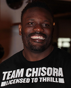 Former boxing champion Dereck Chisora is spared a driving ban  after appealing his sentence for driving without a licence