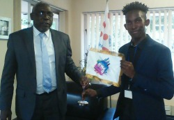 Young Zimbabwean designer  wins African Union logo contest