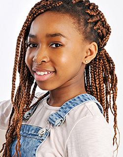 12-year-old Zim actress  makes waves in UK