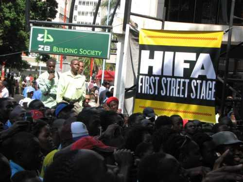 Harare International Festival of the Arts supporters work to crowd-fund 2017 fest