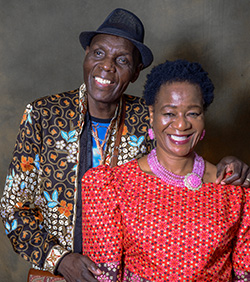 Music Legend  Tuku pays tribute to his wife at his Dinner Gala in London