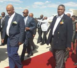 Mphoko, King Letsie gallivant in Vic Falls