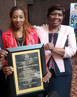 Gospel star Fungisai wins Christian award