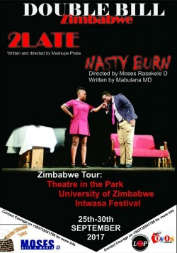 Two SA plays at Harare's Theatre in The Park