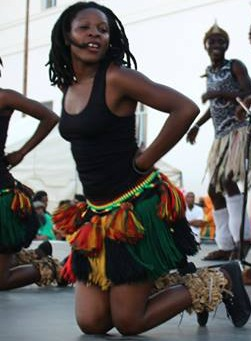 Muchongoyo main dance at 2017 Jikinya festival