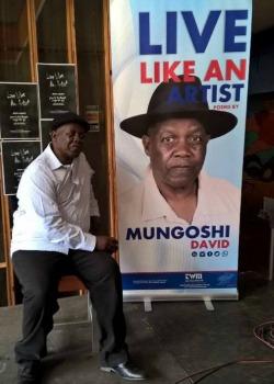 Top literature gong for David Mungoshi