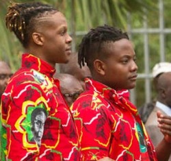 Mugabe kids unfazed by dad's resignation, sell clothes now, including a  R4.1k T-shirt