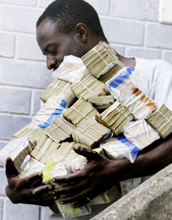 Why it is difficult to bring Zim dollar back