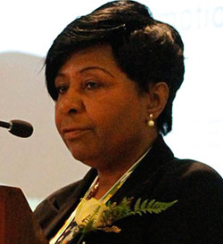 Mujuru  laments 'depressing' trade stats  Trade deficit concern … Vice President Joice Mujuru