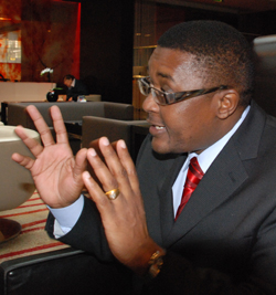Government  turning tourists away: Mzembi
