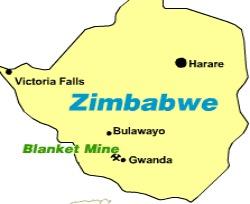 Blanket Gold mine revenues down 11 percent