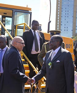 Zinara in $16m graders tender storm