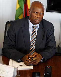 Chinamasa looks to Switzerland for cash