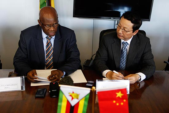 Zimbabwe now China's  favourite African country?