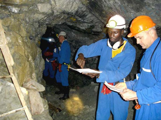 Gold  production down 26 percent