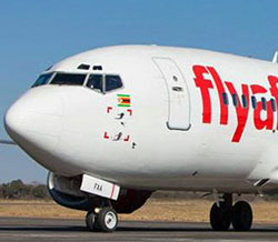 FlyAfrica announces daily Hre-Joburg flight, fares 80pc lower  Low fares … Mati Karase, Mike Bond and Chakanyuka Karase, owners of Fly Africa