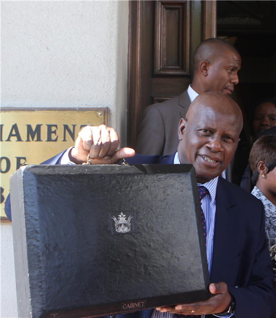 Chinamasa presents US$4.1bln budget for 2015