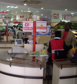 Economy now dominated by wholesale, retail trade