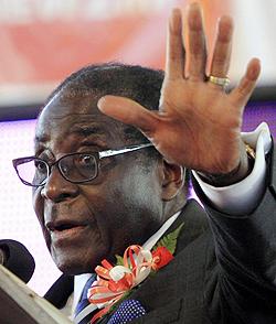 Mugabe explains indigenisattion law