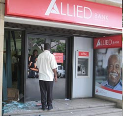 Zimbabwe:  Where locally owned banks have struggled to prosper, let alone survive  Is it eating its own children? … The Reserve Bank of Zimbabwe in central Harare