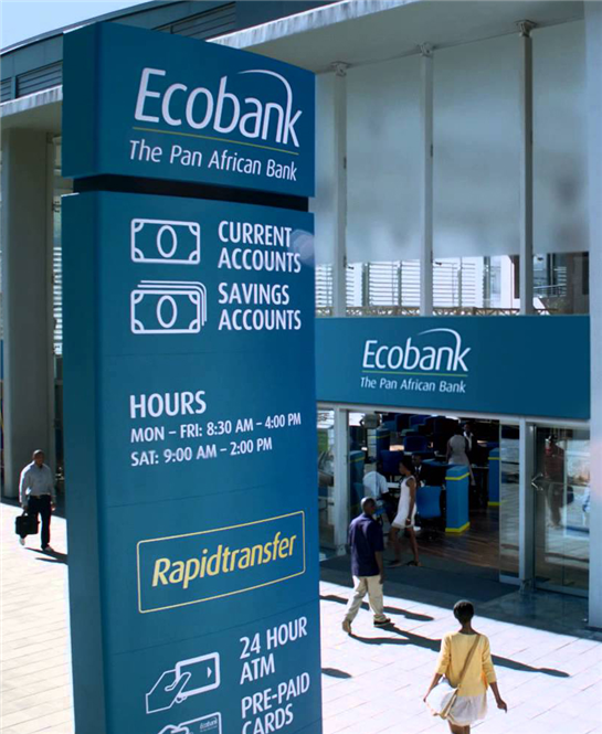 Ecobank profit before tax up 38pct in FY14