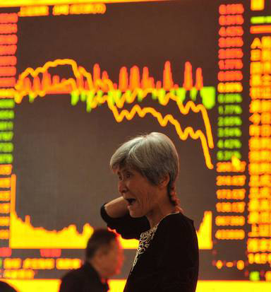 China's dramatic stock plunge continues