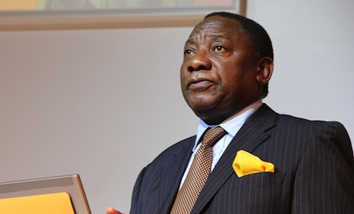 Miners  sue South Africa's deputy president over 2012 strike