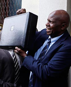 Zimbabweans  say little to expect from Chinamasa budget