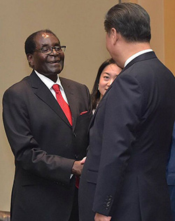 China deals: No quick joy, President Mugabe cautions
