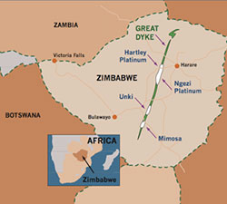 Mimosa mine ownership to change hands after Sibanye gets nod for Aquarius purchase