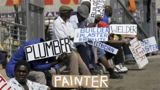 South African unemployment rises to 26.7 percent in first quarter