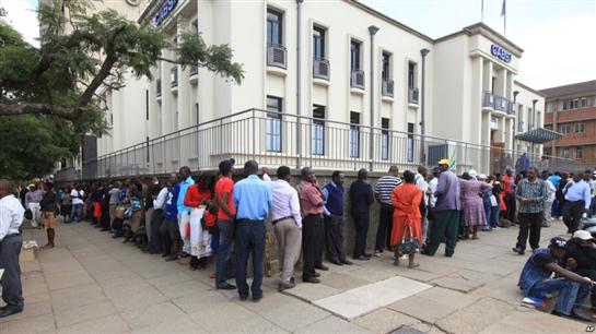 Dollar shortage highlights Zimbabwe's woes