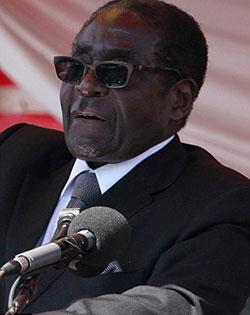 Mugabe says import ban retaliation against South Africa