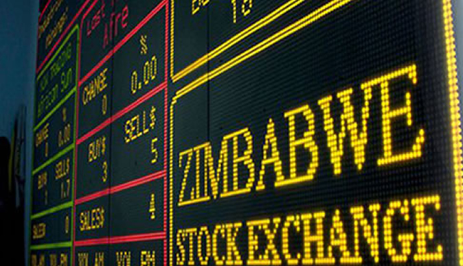 Top five performing stocks on the ZSE