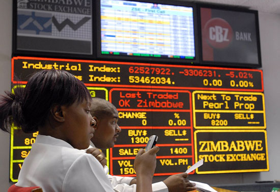 Local investors push ZSE index higher
