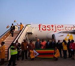 Fastjet adds frequency on Harare-Vic Falls route