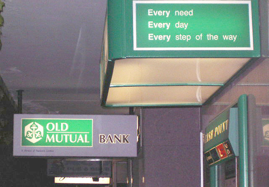 Old Mutual operating profit above target