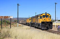 NRZ loss as gold panners damage rail line