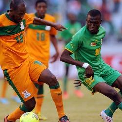 Warriors suffer cruel Cosafa Cup final loss  New champions … Zambia players celebrate winning the Cosafa Cup on Saturday
