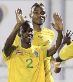 South Africa 1-2 Zimbabwe