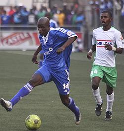 Machapa derby winner sinks United  Derby delight … Oscar Machapa wheels away after scoring the winner on Sunday