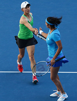 Cara wins Pacific Open doubles final