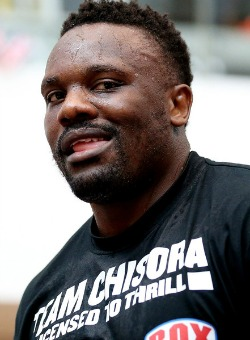 Chisora has Wladimir  Klitschko in sight
