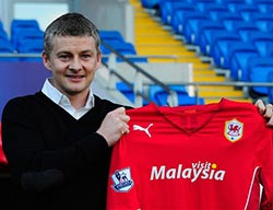 Ex-Utd star Solskjaer new Cardiff boss