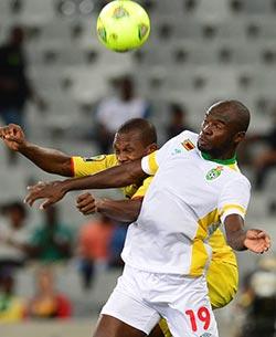 Zimbabwe face Libya in CHAN semis  Winning performance … Eric Chipeta battles Mali's Abdoulaye Sissoko