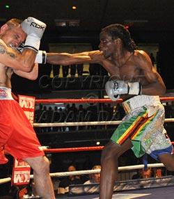 UK-based  boxing prospect eyes title