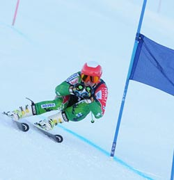Home  support warms Zim's winter Olympian