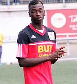 Walter Musona back at FC Platinum