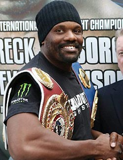 Chisora takes on American  Johnson